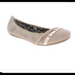 RIEKER Ballet flat suede shoe size 7